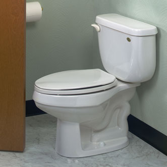 Eljer Patriot Space Saver Two Piece Elongated Toilet