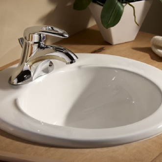 Eljer Murray Round Lavatory 8 Inch Centers Product