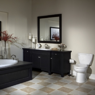 Eljer Diplomat Round Front Toilet W Insulated Tank