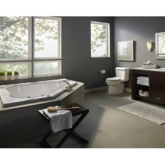 Eljer Triangle Whirlpool 60 Inch By 60 Inch Lh 10 Jet