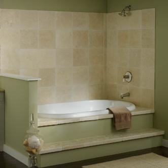 Eljer Genesis 72 Inch By 42 Inch Soaking Tub Product