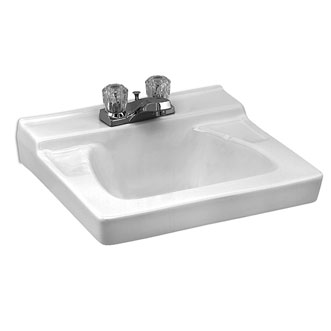 Eljer Sinks : Eljer - Murray II Wall Hung Lavatory - 4 Inch Centers - Product Detail