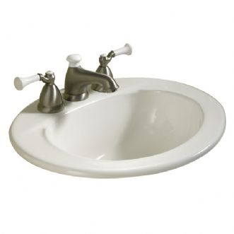 Eljer Sinks : Eljer - Murray Oval Lavatory - 8 Inch Centers - Product Detail