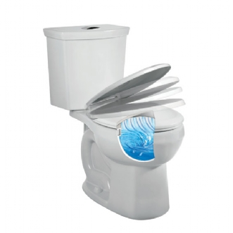 Eljer Somerville Standard Height Round Front Toilet