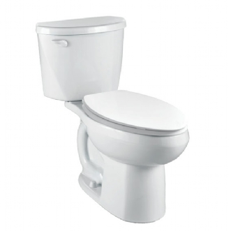 Eljer Belmont Het Right Height Elongated Complete Toilet