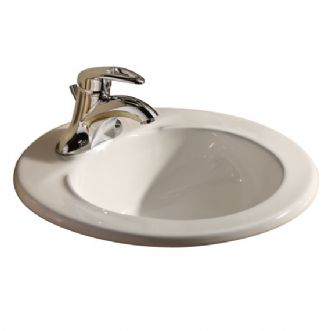 Eljer Sinks : Eljer - Murray Round Lavatory - 8 Inch Centers - Product Detail