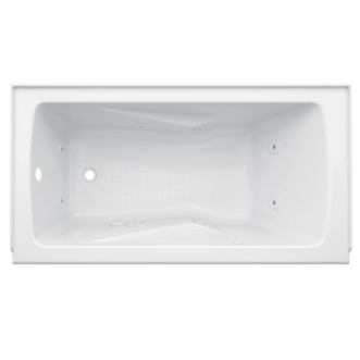 Eljer Cabrillo  Inch By  Inch Integral Apron Whirlpool - 60 inch whirlpool tub