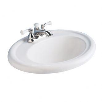 Eljer Sinks : Eljer - Endicott Countertop Lavatory - 8 Inch Centers - Product Detail