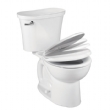 Stratus Standard Height Round Front Toilet