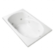 Canterbury Whirlpool 60 Inch by 36 Inch 8-Jet